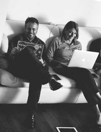 Laura Coppola e Massimo Carraro - Fondatori Coworking Cowo