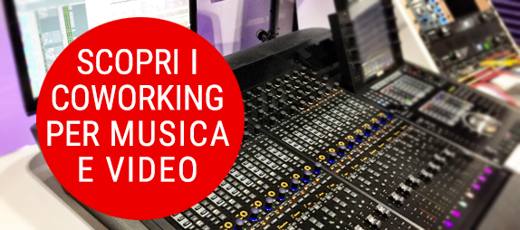 contatto coworking per music and video maker