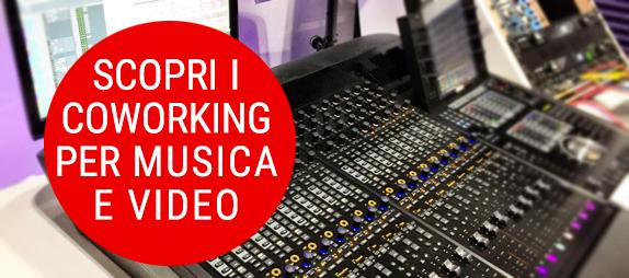 contatto coworking per music and video maker
